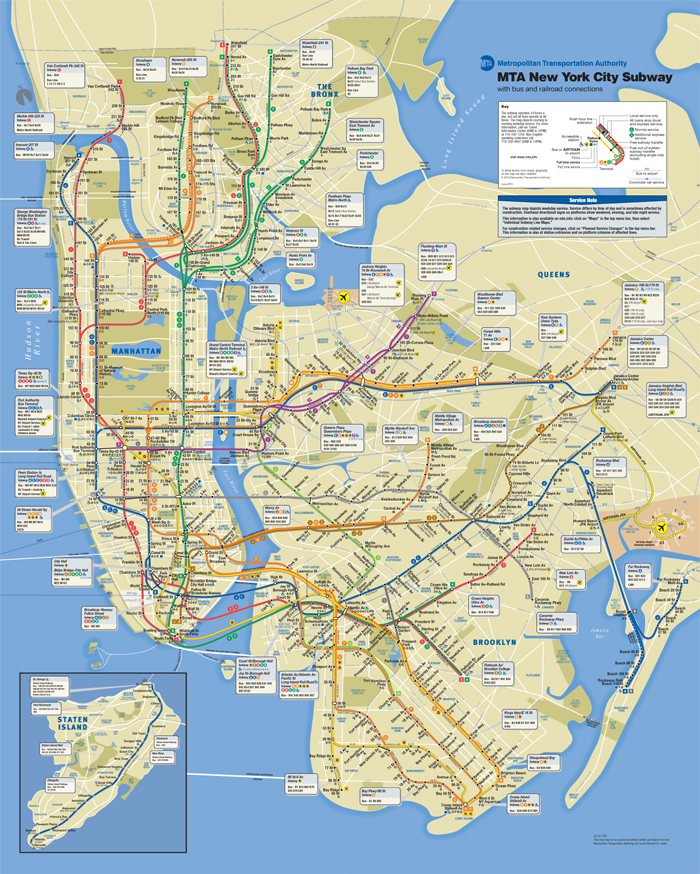 Subway Map Nyc 2012.Maps Of New York I Heart Parsons