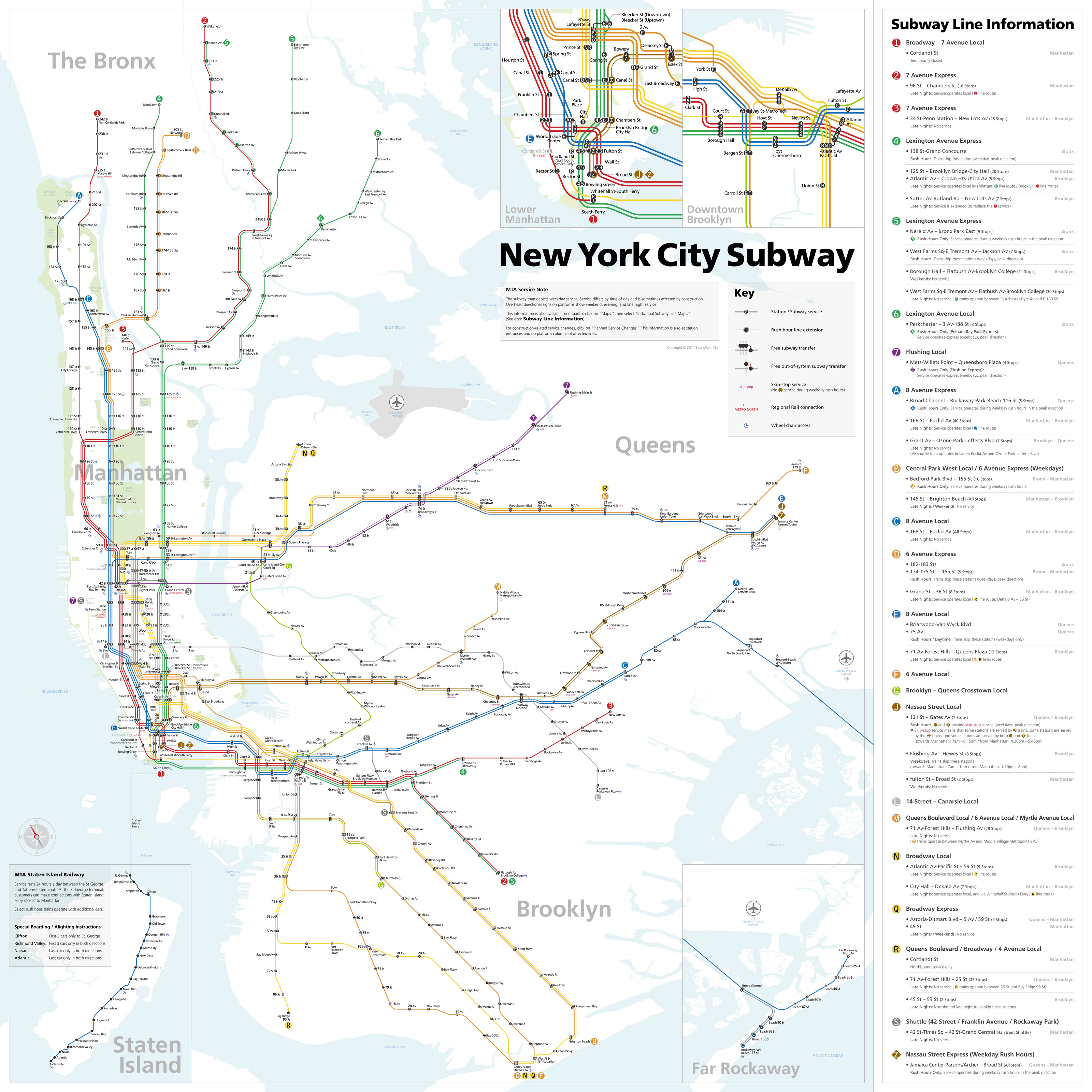 Late Night Weekend Subway Map Ny.Maps Of New York I Heart Parsons