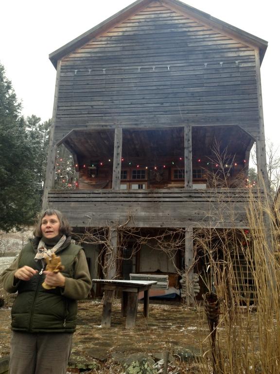 J. Morgan Puett explaining the main house of Mildred's Lane