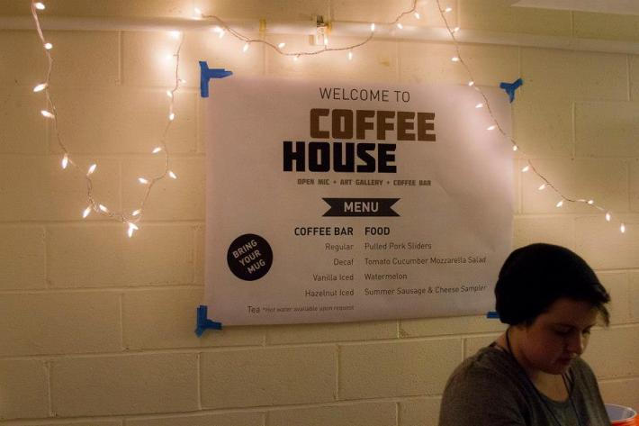 Coffee House event at Stuy Park