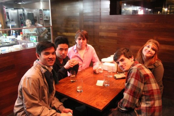 Dinner with friends at Momofuku Ssäm Bar for my 19th birthday during my freshman year!