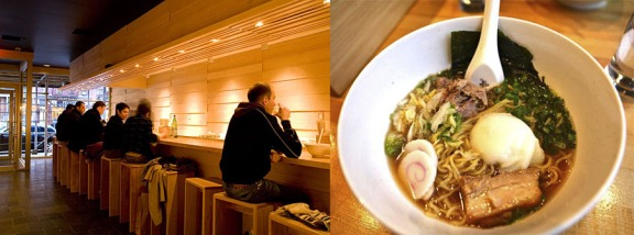 Momofuku Noodle Bar, the first Momofuku restaurant, has become one of the premier East Village ramen houses