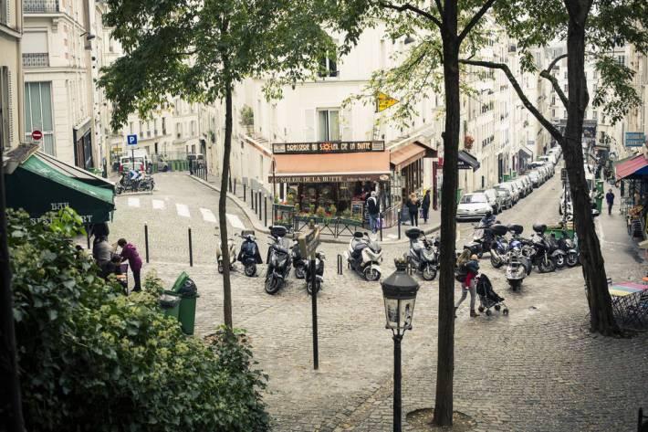 The picture-esque Montmartre!