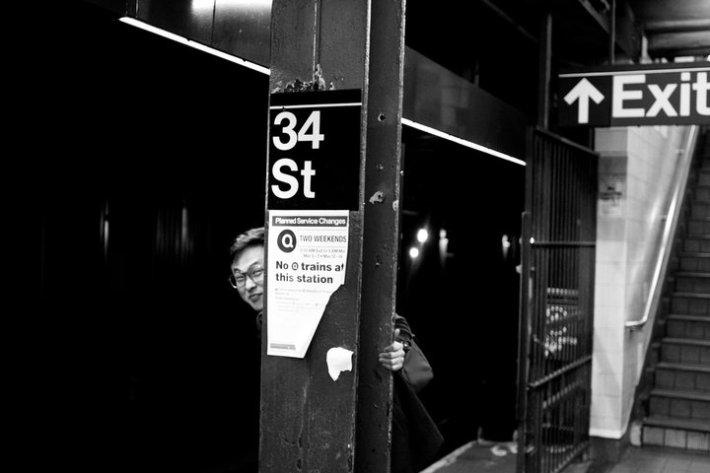 Subway Station at 34th St.