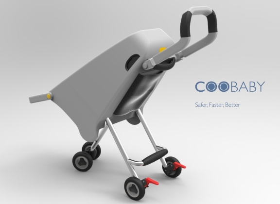 Daulton designed a poster featuring the CGI rendering of CooBaby