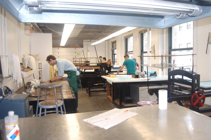 Lithography press'