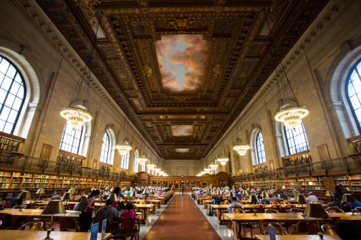 The stunning New York Public Library