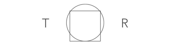 The Tabula Rasa logo, which features a square fitting into a circle. The square represents the blank slate, while the circle represents freedom and autonomy.