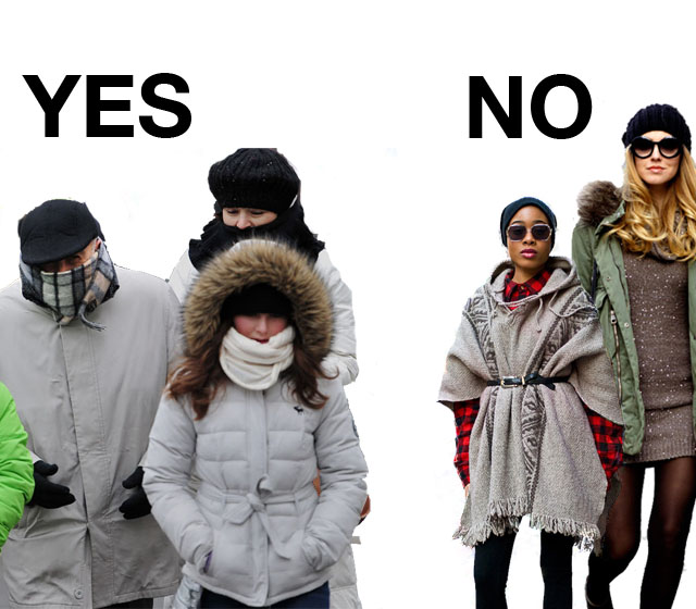 "Polar Vortex weather isn't so ""winter chic"""