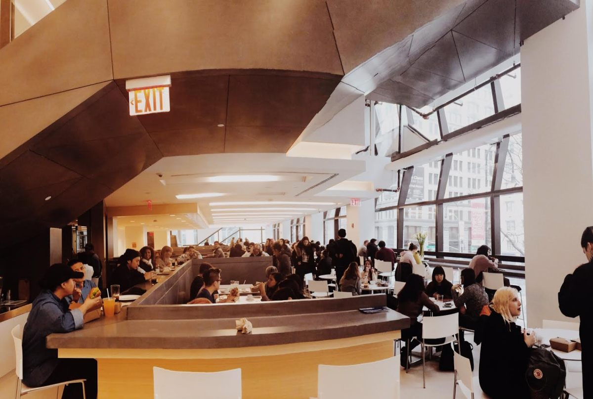 Places Around Campus: The University Center Cafeteria