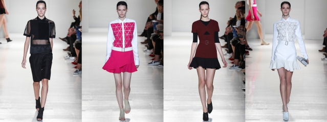 Some of my favorite looks from Victoria Beckham Spring/Summer '14.