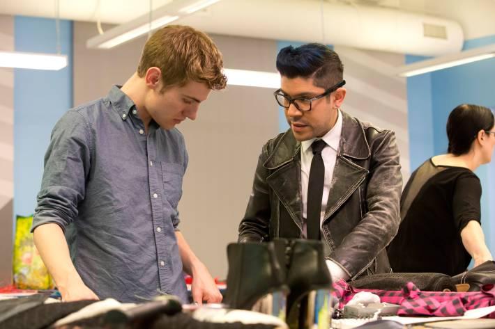 Sam and his mentor Mondo