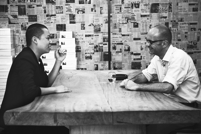 Fashion designer and Parsons alum Jason Wu sits down to chat with Dean Simon Collins