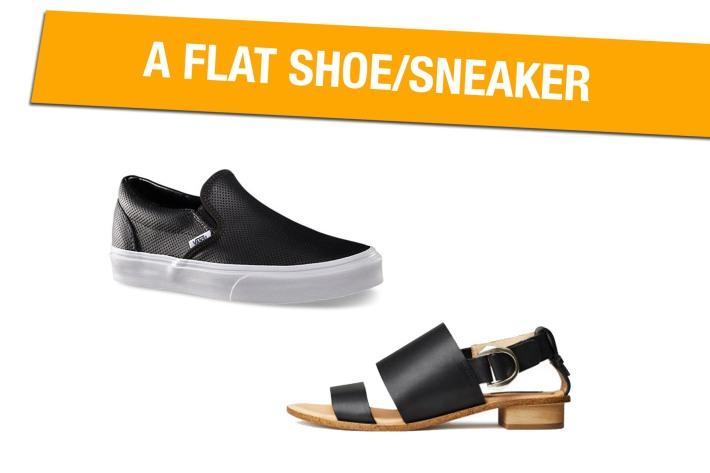 Flat Shoe/Sneaker